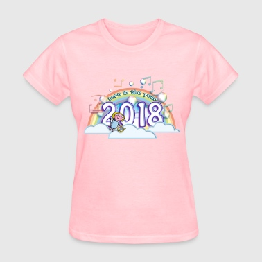 Born in the year 2018 cb - Women's T-Shirt