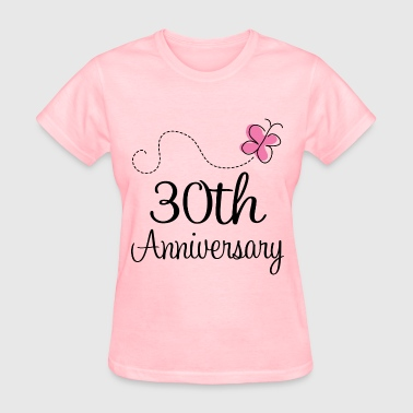 30th Anniversary Gift 30th Anniversary butterfly - Women's T-Shirt