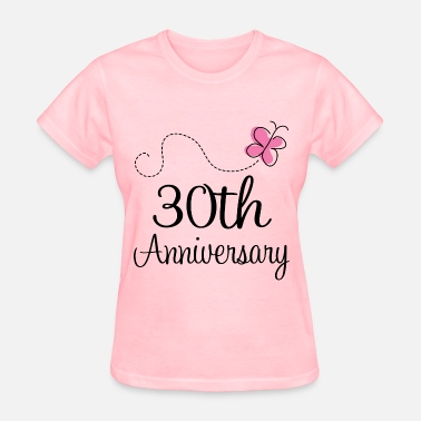 30 Years 30th Anniversary butterfly - Women's T-Shirt