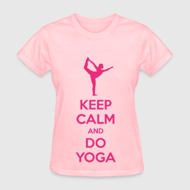 Keep Calm and Do Yoga - Women's T-Shirt