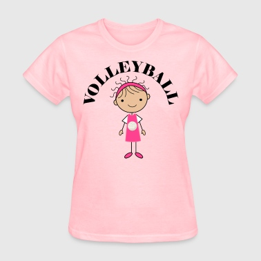 Volleyball Girls Womens - Women's T-Shirt