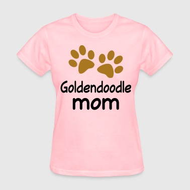 Goldendoodle Mom paw print - Women's T-Shirt