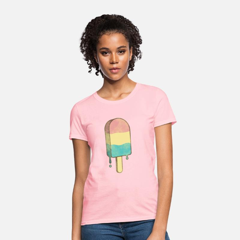 Cool T-Shirts - popsicle - Women's T-Shirt pink