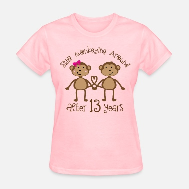 Shop 13th Wedding Anniversary T Shirts Online Spreadshirt