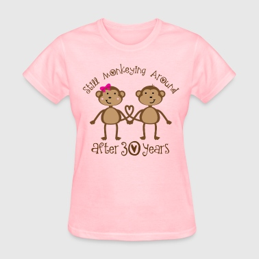 30th Anniversary Monkeying Around - Women's T-Shirt