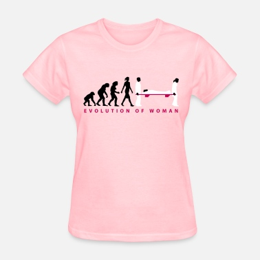 Medication Aide evolution_female_paramedic_09_201602_3c - Women's T-Shirt