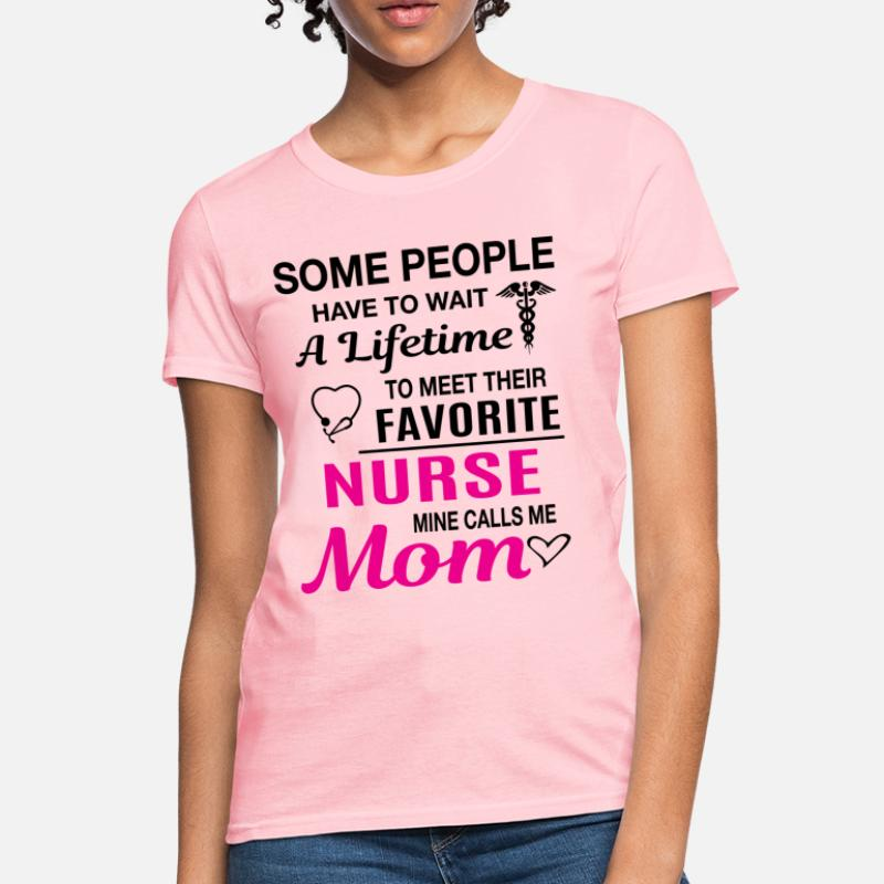 8cb076b4 Shop Proud Mom Of A Nurse T-Shirts online | Spreadshirt