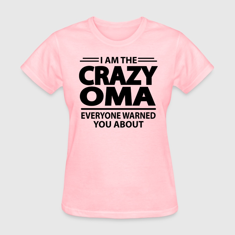 Crazy Oma - Women's T-Shirt