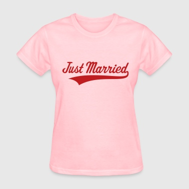 Just Married (Marriage / Wedding) - Women's T-Shirt