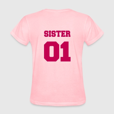 Sister 02, Sisters, Brother, Family, Birthdays - Women's T-Shirt