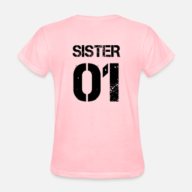 Sisters Sister 01, Sisters, Brother, Family, Birthdays - Women's T-Shirt