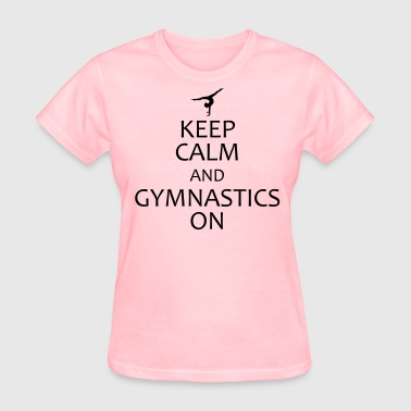 keep calm and gymnastics - Women's T-Shirt
