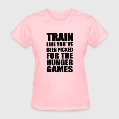 Train like you´ve been picked for the hunger games - Women's T-Shirt