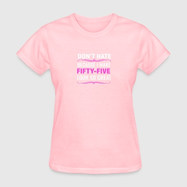 55th birthday design - Women's T-Shirt