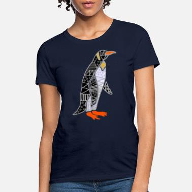 Abstract Funny Penguin Abstract - Women's T-Shirt