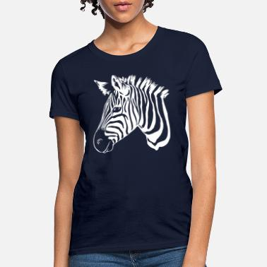 Zebra zebra white - Women's T-Shirt