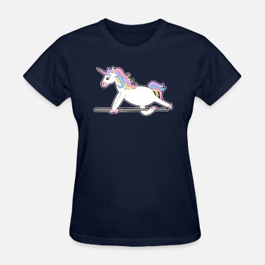 Vomiting Unicorn - Women's T-Shirt