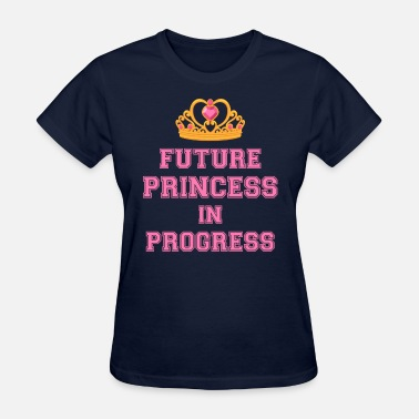 Funny Pregnancy Sex Future Princess in Progress pregnant mom shirt - Women's T-Shirt