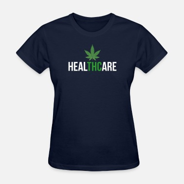 Herb Amsterdam THC Healthcare Cannabis Ganja Cure Herb - Women's T-Shirt
