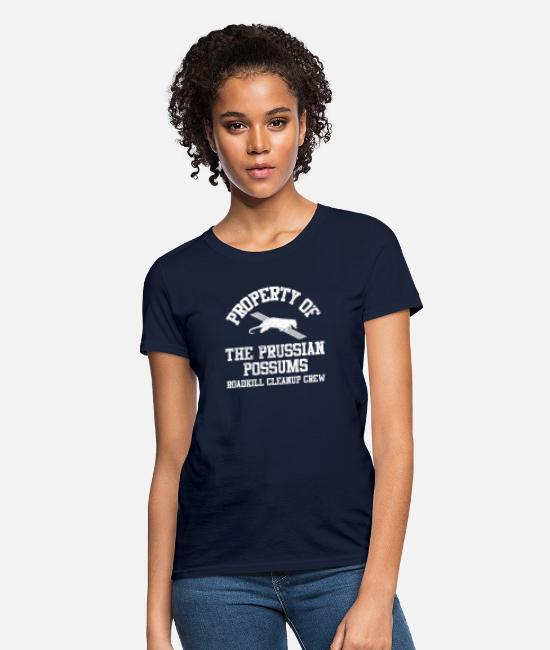 Phish Possum T-Shirts - Funny Phish Possum Roadkill Phanart - Women's T-Shirt navy