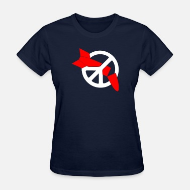 Disarmament Nuclear Disarmament Ani Bombs War Peace T Shirt - Women's T-Shirt