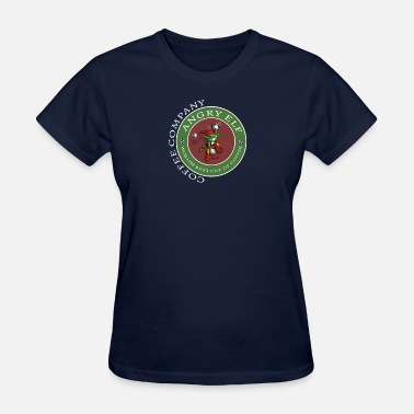 Angry Coffee Angry Elf Coffee Company - World's best Cup Of Coffee - Women's T-Shirt