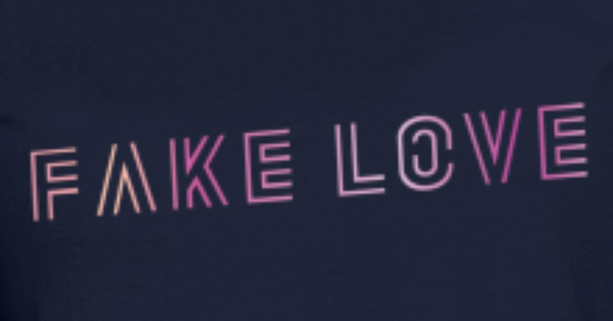 319ba4b493e0 BTS Fake Love Gradient Women s T-Shirt