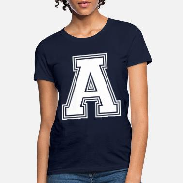 Letters Of The Alphabet A letter A_(w31) - Women's T-Shirt
