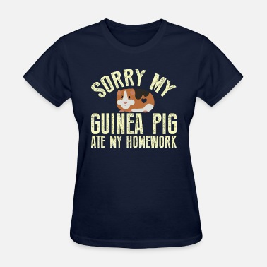 Sock Guinea Pigs Lover T-Shirts! Funny Guinea Pig Gift - Women's T-Shirt