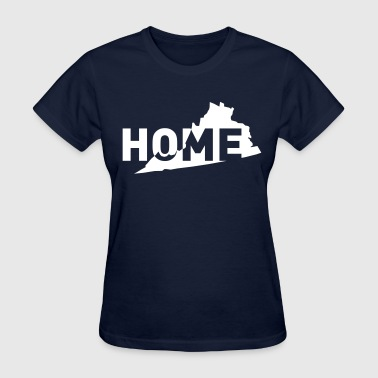 Home is where Virginia is - Women's T-Shirt