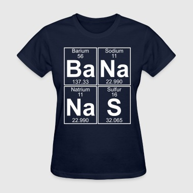 Ba-Na-Na-S (bananas) - Full - Women's T-Shirt