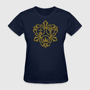 Kingdom Hearts (Metallic Gold) Women's Standard We - Women's T-Shirt