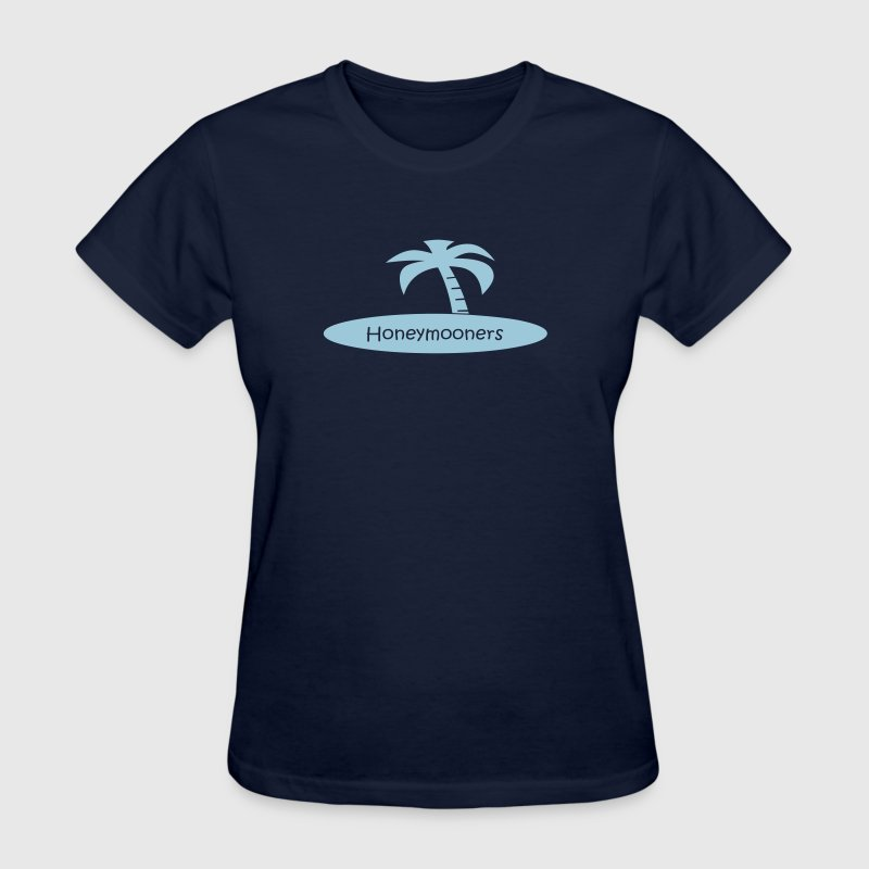 honeymooners (wedding, honeymoon) - Women's T-Shirt