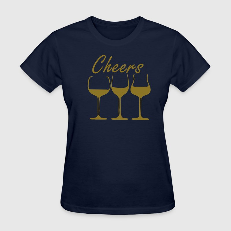 Wine glasses - Women's T-Shirt