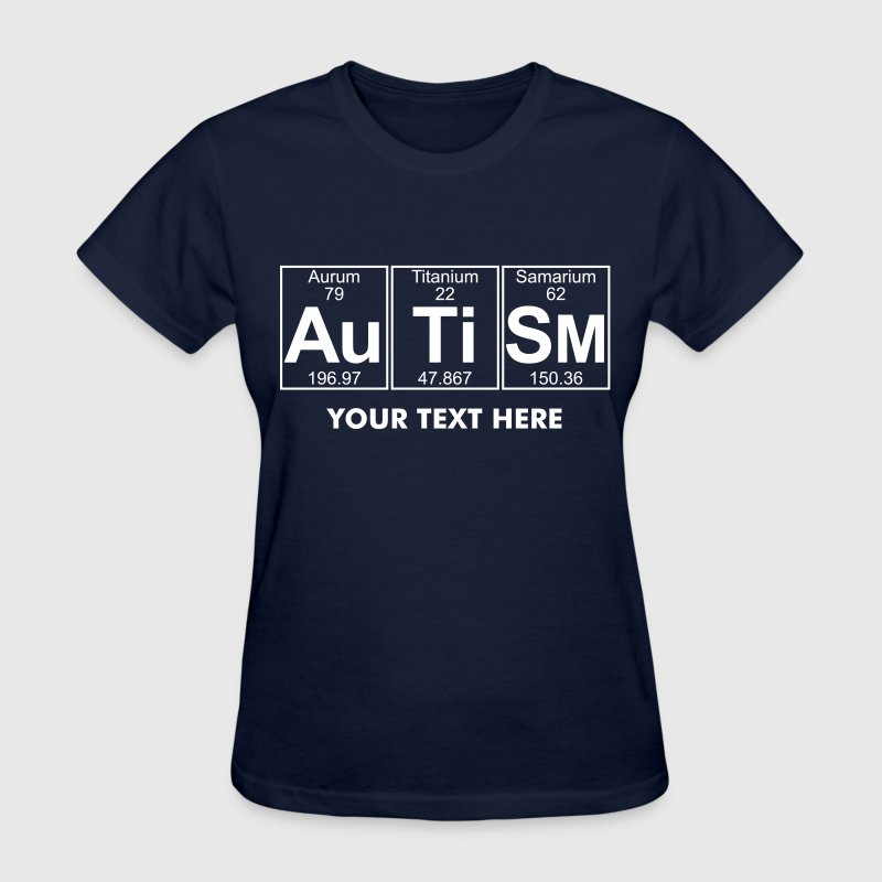 Au-Ti-Sm (autism) - Full - Women's T-Shirt