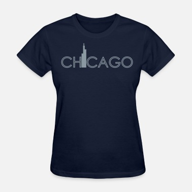 Skyline Chicago - Women's T-Shirt