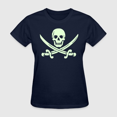 Skull and crossbones - Women's T-Shirt