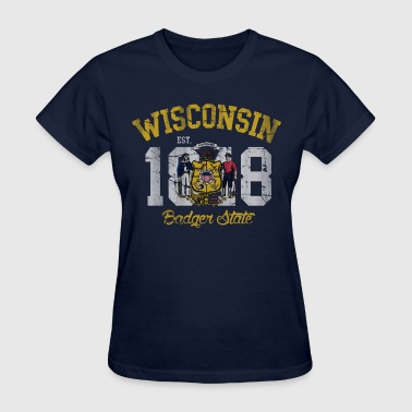 Wisconsin Badger State - Women's T-Shirt