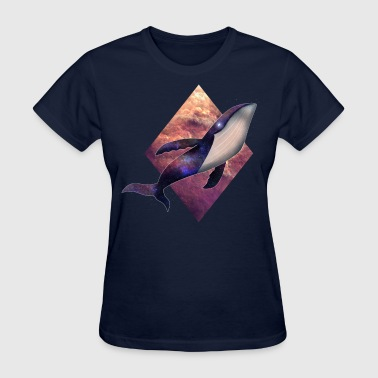 Flying Whale - Women's T-Shirt