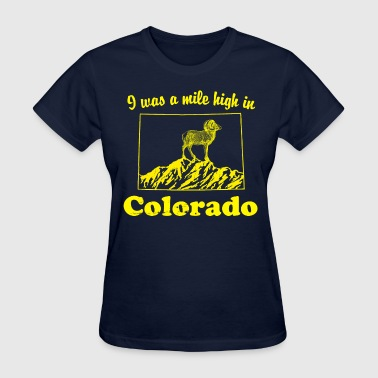 colorado mile high - Women's T-Shirt