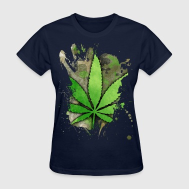 Weed Leaf - Women's T-Shirt