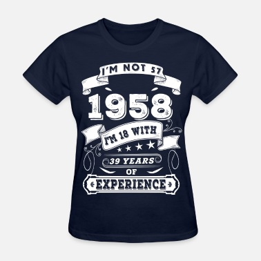 September 1958 1958 - Women's T-Shirt