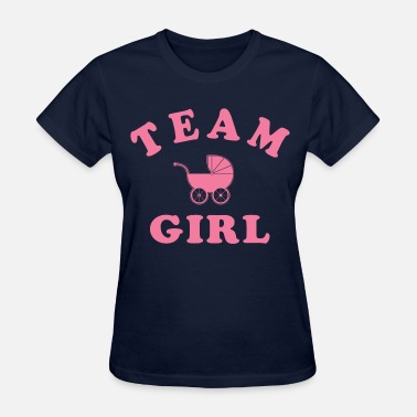 Baby Shower Team Girl - Women's T-Shirt