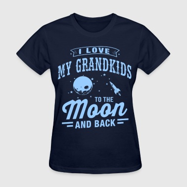 I Love My Grandkids - Women's T-Shirt