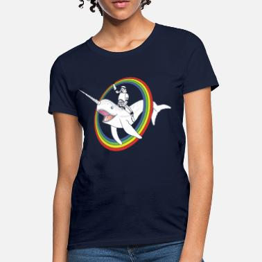 Narwhal Narwhal Rainbow Stormtrooper - Women's T-Shirt