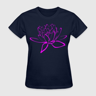 flower lotus - Women's T-Shirt