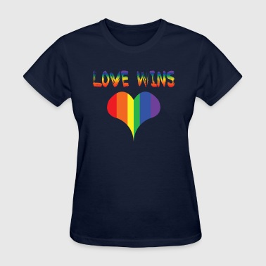 love wins - Women's T-Shirt
