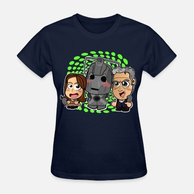12th Doctor Chibi Doctor Who Shirt - 12th Doctor Chibi - Women's T-Shirt