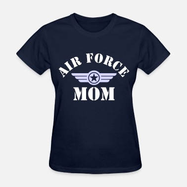 Mom Air Force Air Force Mom - Women's T-Shirt