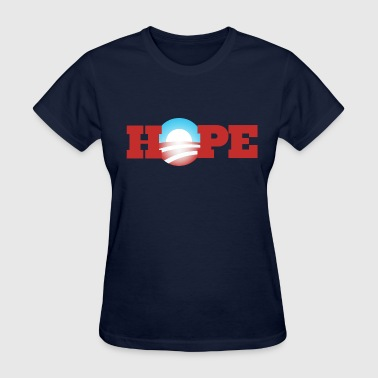 Hope Obama 2012 - Women's T-Shirt
